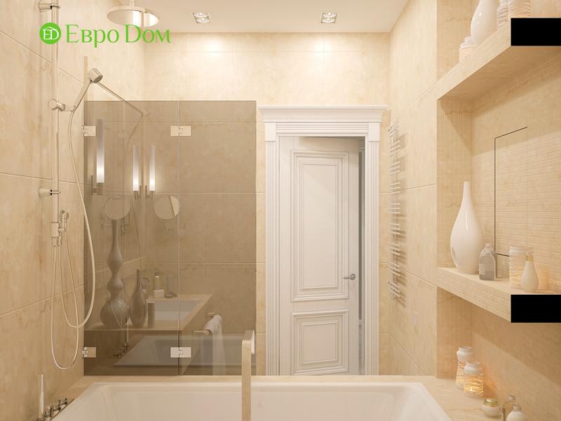 Дизайн 4-комнатной квартиры 192 кв. м в стиле классицизм. Фото 029