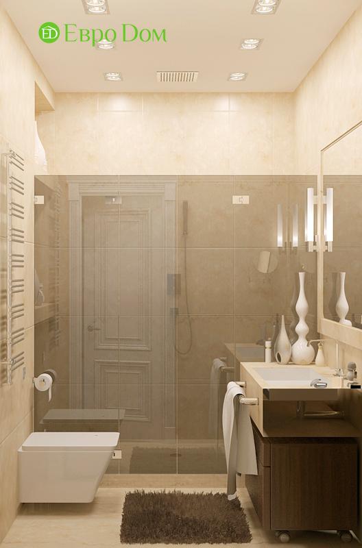 Дизайн 4-комнатной квартиры 192 кв. м в стиле классицизм. Фото 030