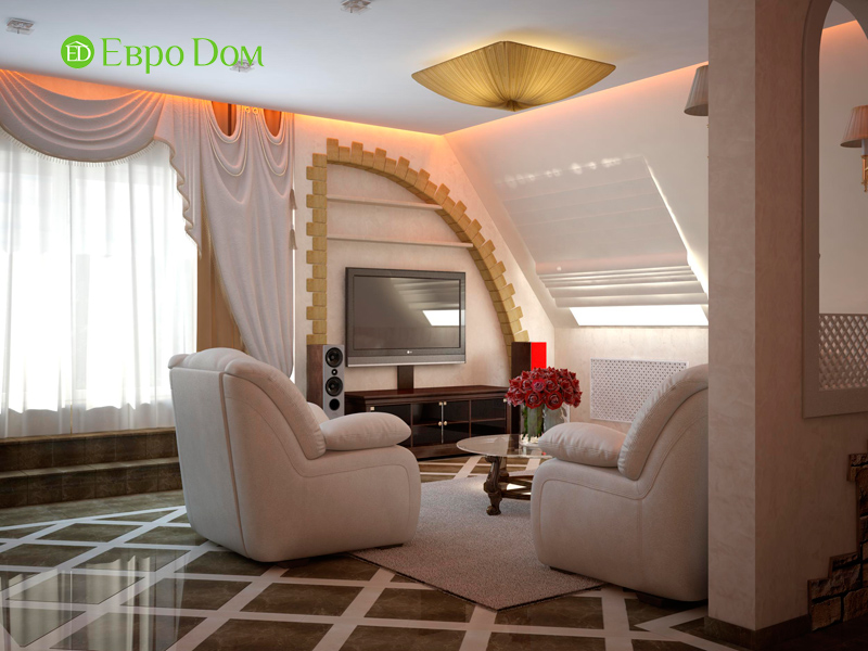 Дизайн 4-комнатной квартиры в стиле неоклассика. Фото 08