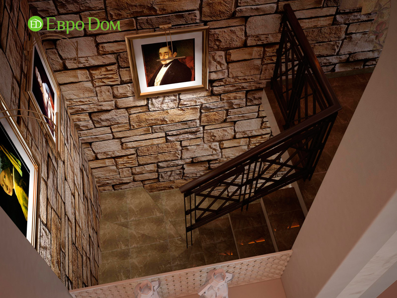 Дизайн 4-комнатной квартиры в стиле неоклассика. Фото 012