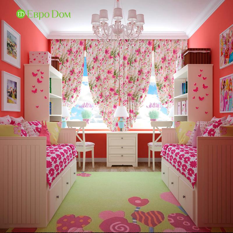 Дизайн 4-комнатной квартиры в стиле неоклассика. Фото 014