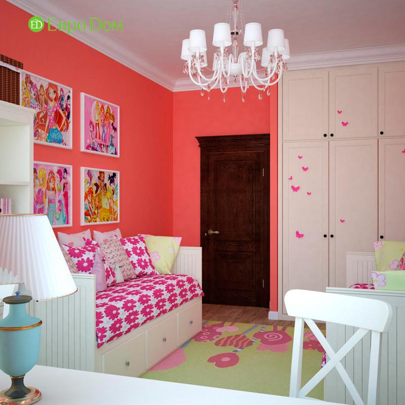 Дизайн 4-комнатной квартиры в стиле неоклассика. Фото 015
