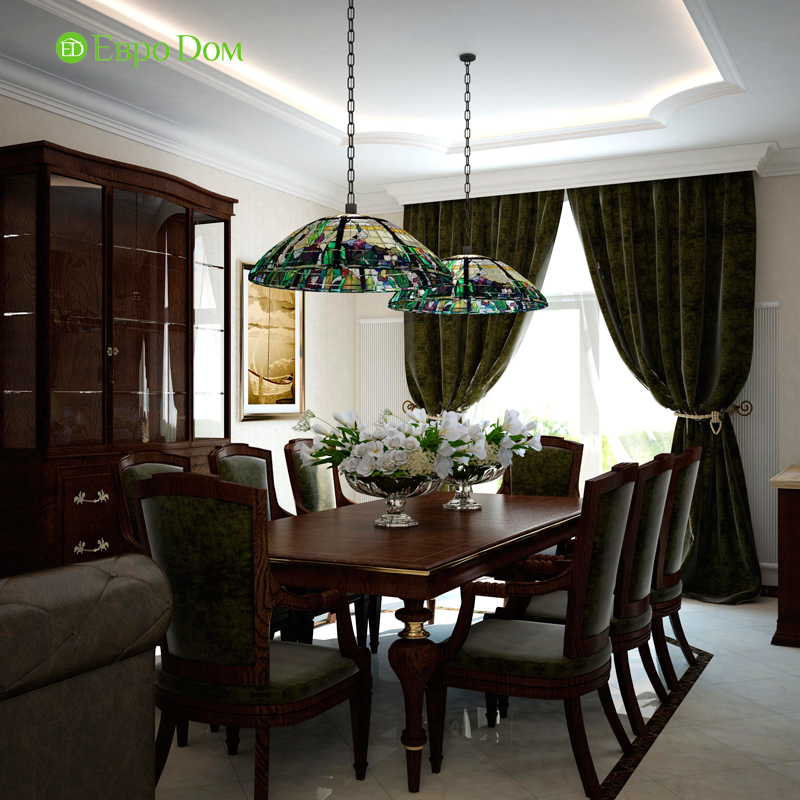 Дизайн 4-комнатной квартиры в стиле неоклассика. Фото 017