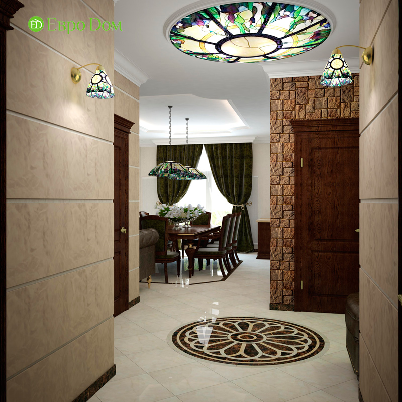 Дизайн 4-комнатной квартиры в стиле неоклассика. Фото 018