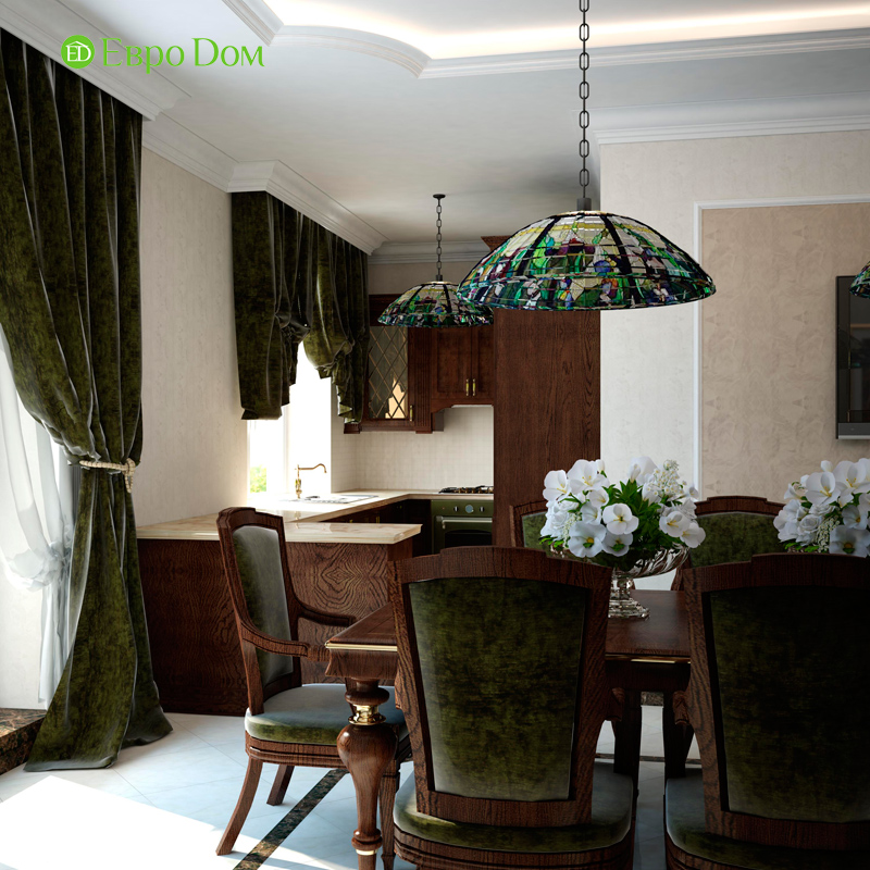 Дизайн 4-комнатной квартиры в стиле неоклассика. Фото 019