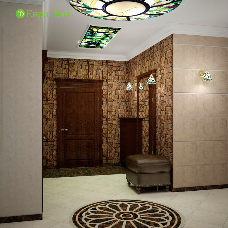 Дизайн 4-комнатной квартиры в стиле неоклассика. Фото 020