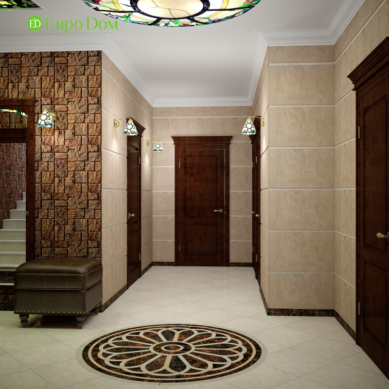 Дизайн 4-комнатной квартиры в стиле неоклассика. Фото 024