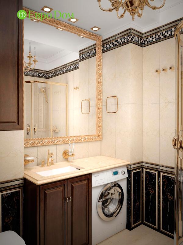 Дизайн 4-комнатной квартиры в стиле неоклассика. Фото 025