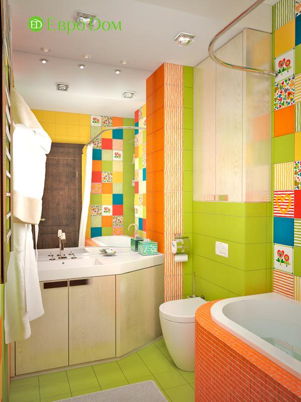 Дизайн 4-комнатной квартиры в стиле неоклассика. Фото 027