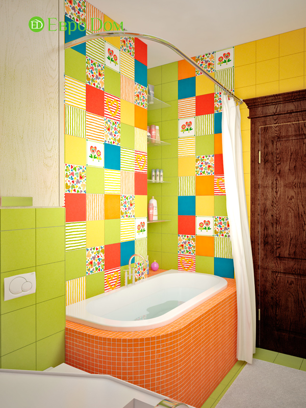 Дизайн 4-комнатной квартиры в стиле неоклассика. Фото 028