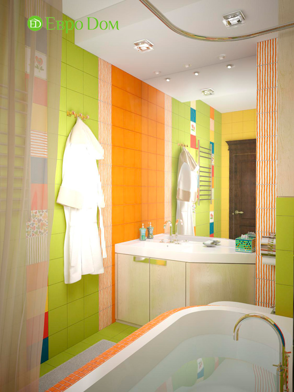 Дизайн 4-комнатной квартиры в стиле неоклассика. Фото 029