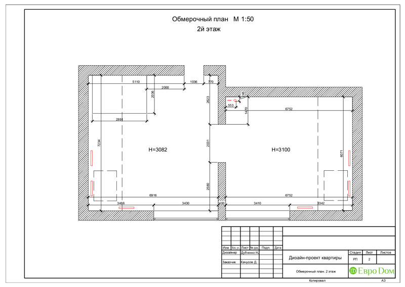 Дизайн 4-комнатной квартиры в стиле неоклассика. Фото 036