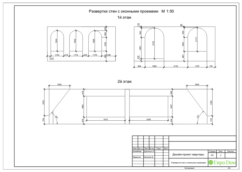Дизайн 4-комнатной квартиры в стиле неоклассика. Фото 037