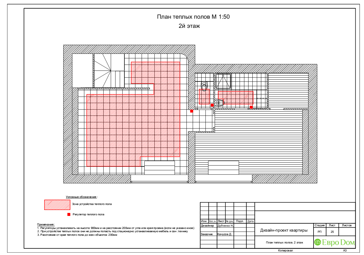 Дизайн 4-комнатной квартиры в стиле неоклассика. Фото 058