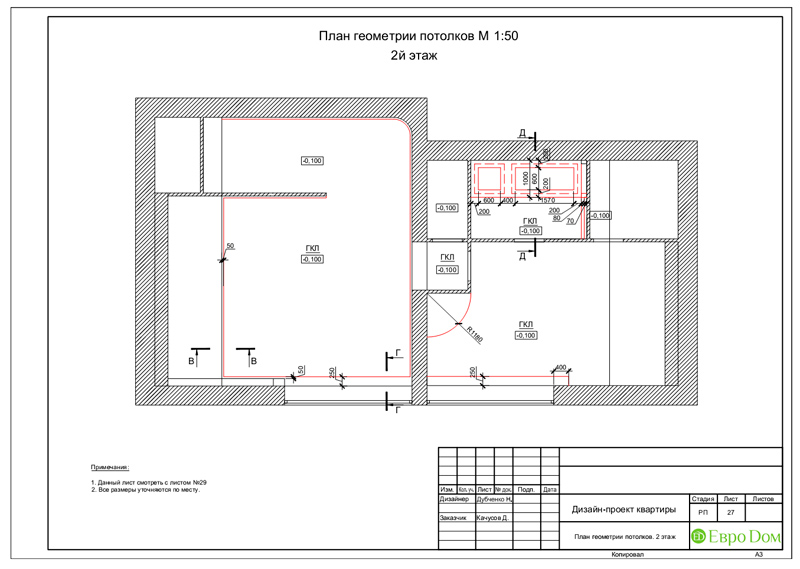 Дизайн 4-комнатной квартиры в стиле неоклассика. Фото 060