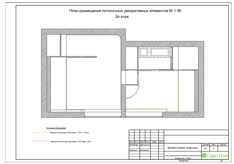 Дизайн 4-комнатной квартиры в стиле неоклассика. Фото 064