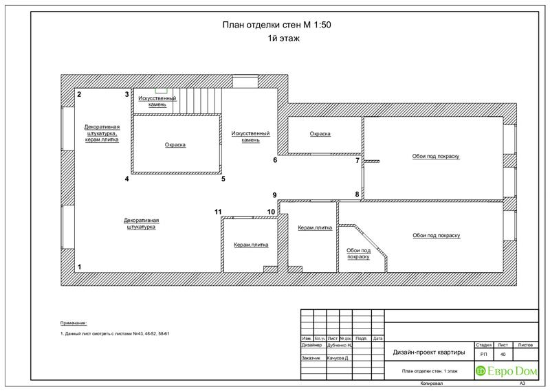 Дизайн 4-комнатной квартиры в стиле неоклассика. Фото 073
