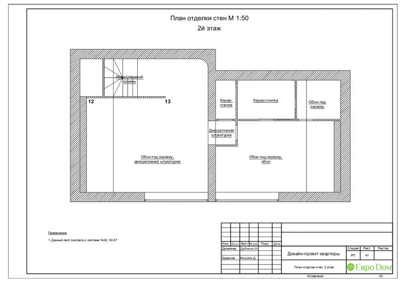 Дизайн 4-комнатной квартиры в стиле неоклассика. Фото 074