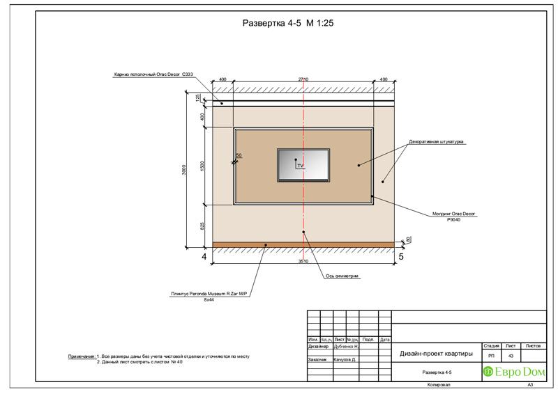 Дизайн 4-комнатной квартиры в стиле неоклассика. Фото 076