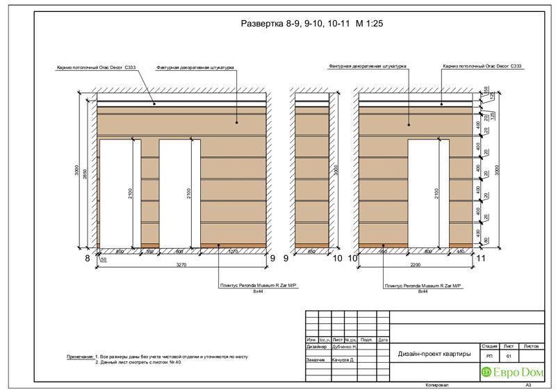 Дизайн 4-комнатной квартиры в стиле неоклассика. Фото 094