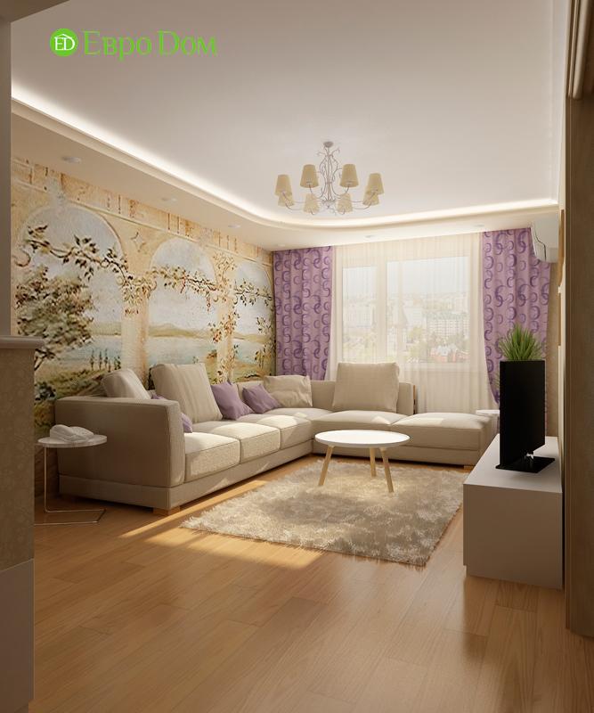 Дизайн 4-комнатной квартиры 95 кв. м в стиле прованс. Фото 03
