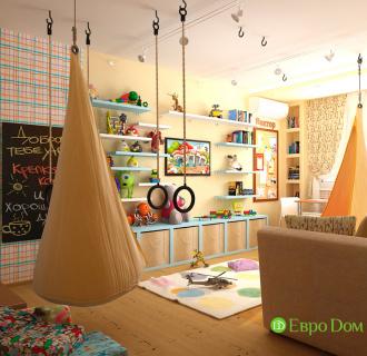 Дизайн четырехкомнатной квартиры 96 кв. м в стиле прованс. Фото проекта