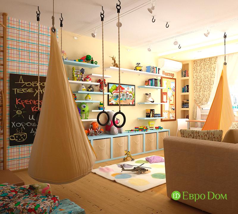 Дизайн 4-комнатной квартиры 95 кв. м в стиле прованс. Фото 04