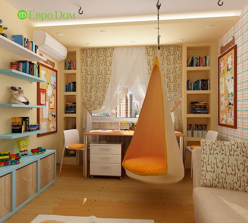 Дизайн 4-комнатной квартиры 95 кв. м в стиле прованс. Фото 06