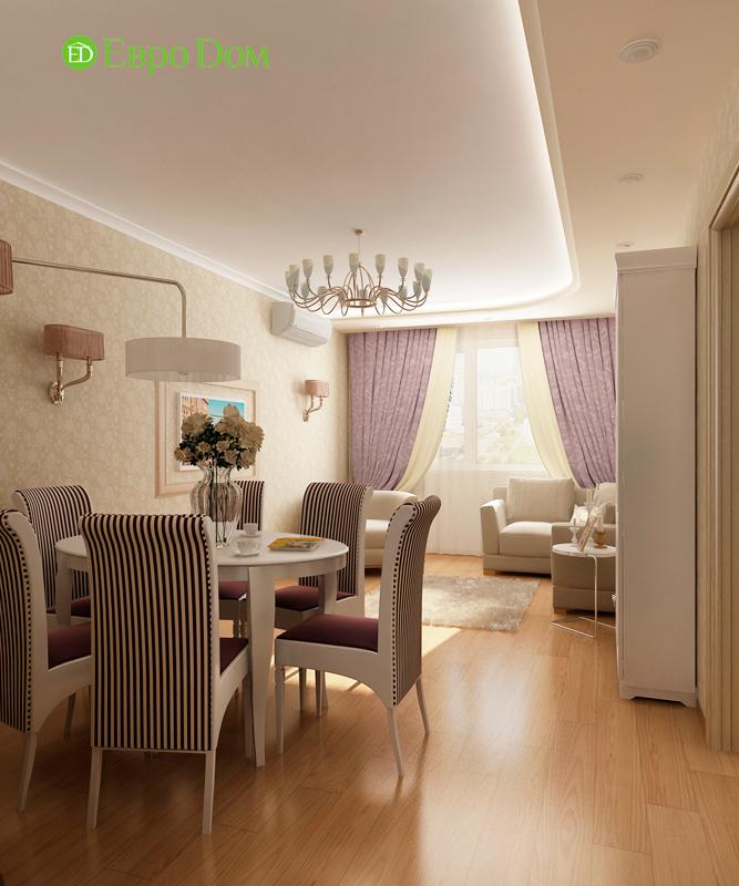 Дизайн 4-комнатной квартиры 95 кв. м в стиле прованс. Фото 07