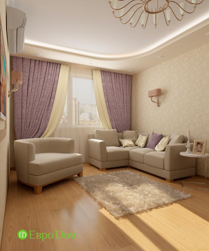 Дизайн 4-комнатной квартиры 95 кв. м в стиле прованс. Фото 08