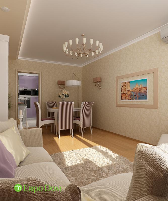 Дизайн 4-комнатной квартиры 95 кв. м в стиле прованс. Фото 09