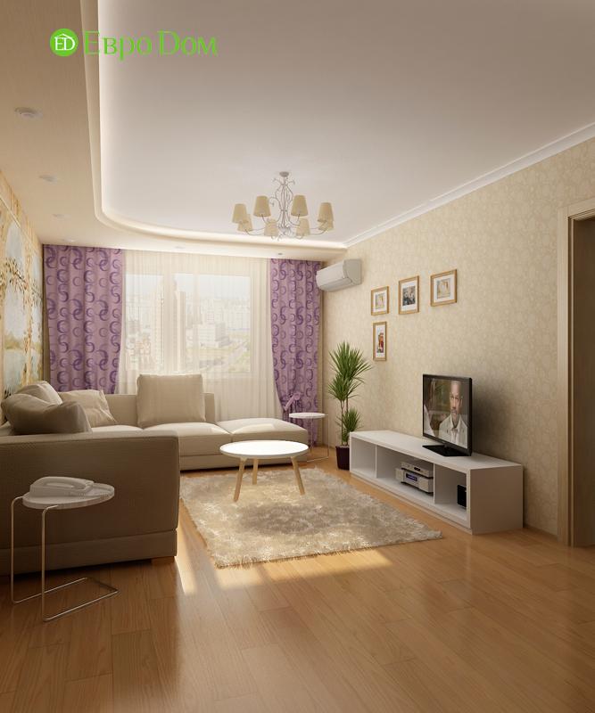 Дизайн 4-комнатной квартиры 95 кв. м в стиле прованс. Фото 011