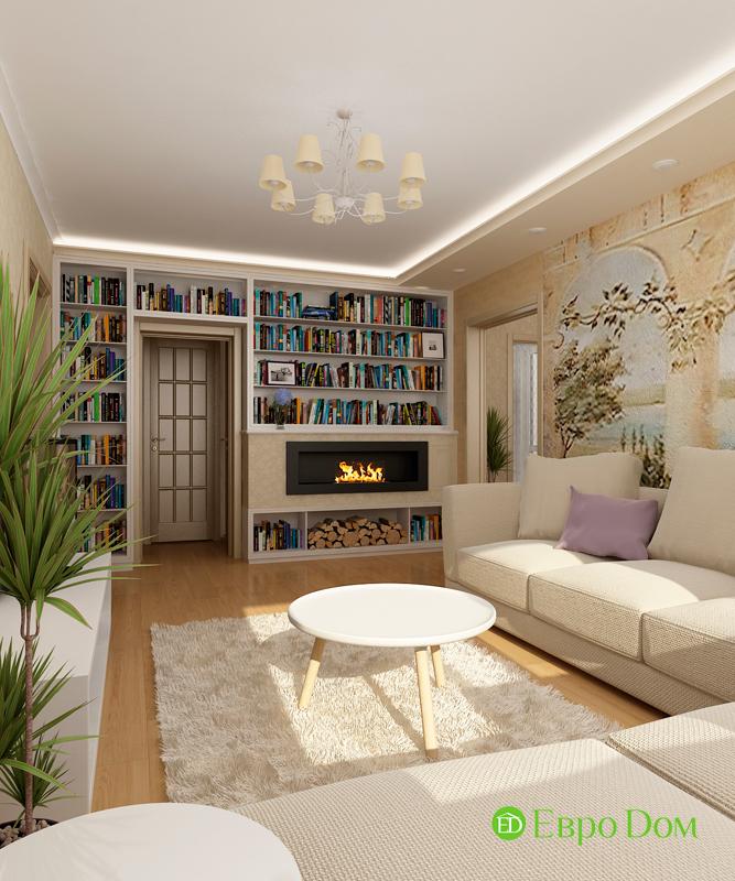 Дизайн 4-комнатной квартиры 95 кв. м в стиле прованс. Фото 012