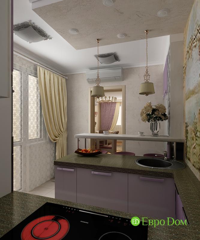 Дизайн 4-комнатной квартиры 95 кв. м в стиле прованс. Фото 013