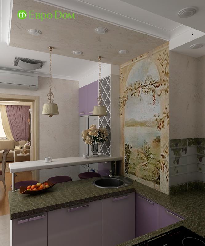 Дизайн 4-комнатной квартиры 95 кв. м в стиле прованс. Фото 014