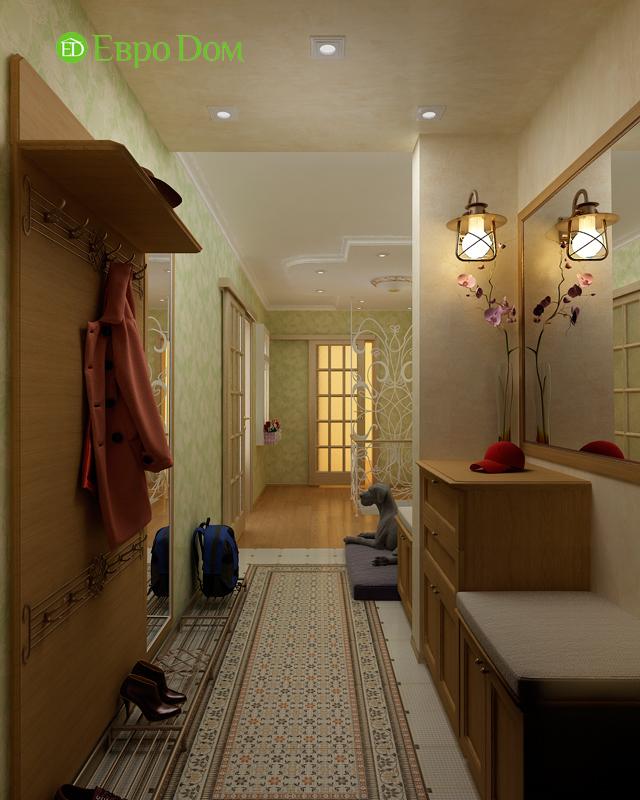 Дизайн 4-комнатной квартиры 95 кв. м в стиле прованс. Фото 015