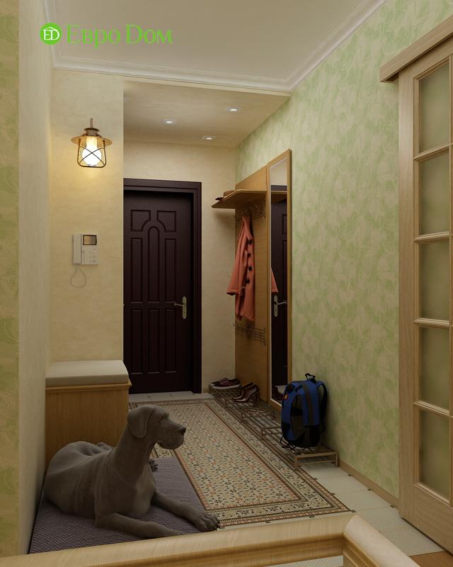 Дизайн 4-комнатной квартиры 95 кв. м в стиле прованс. Фото 017