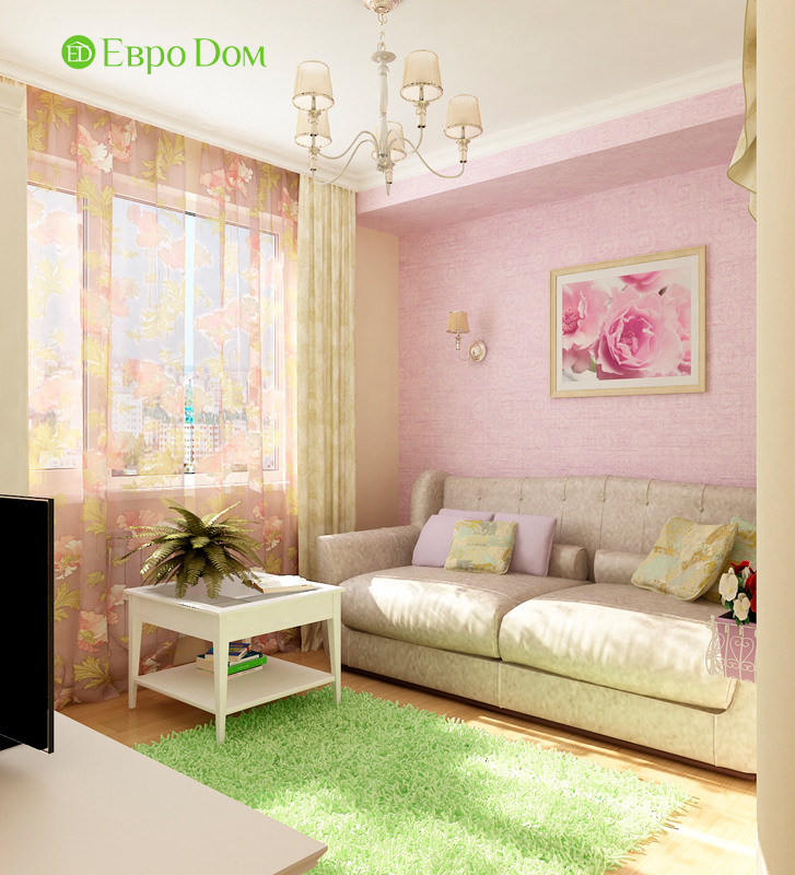 Дизайн 4-комнатной квартиры 95 кв. м в стиле прованс. Фото 022