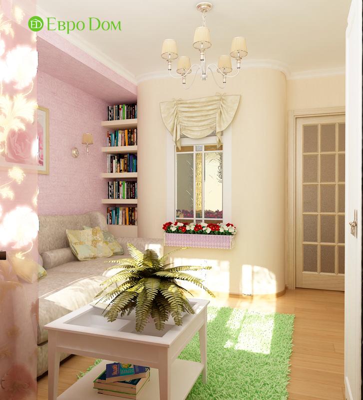 Дизайн 4-комнатной квартиры 95 кв. м в стиле прованс. Фото 023