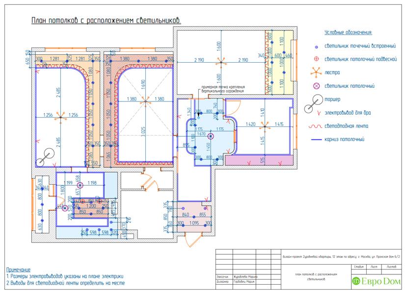 Дизайн 4-комнатной квартиры 95 кв. м в стиле прованс. Фото 038