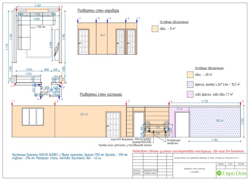 Дизайн 4-комнатной квартиры 95 кв. м в стиле прованс. Фото 042