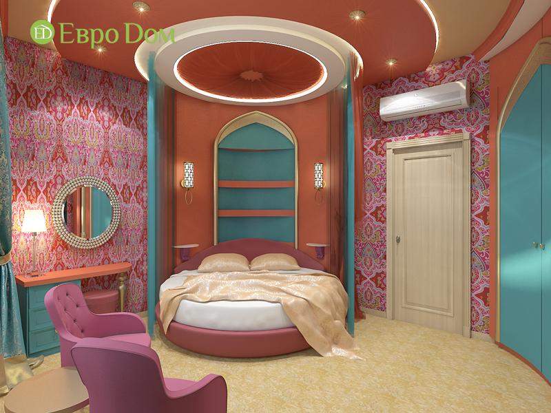 Дизайн 2-комнатной квартиры 65 кв. м в индийском стиле. Фото 08