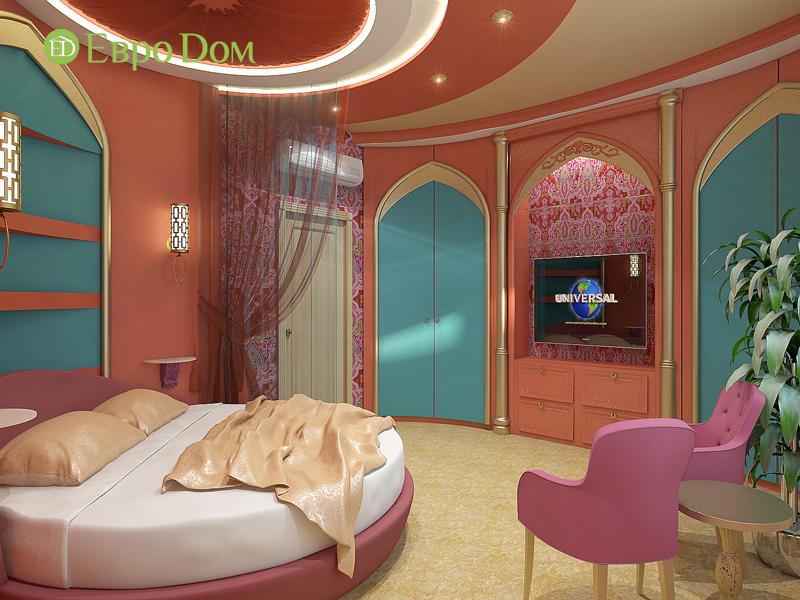 Дизайн 2-комнатной квартиры 65 кв. м в индийском стиле. Фото 010