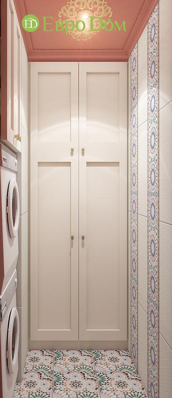 Дизайн 2-комнатной квартиры 65 кв. м в индийском стиле. Фото 018