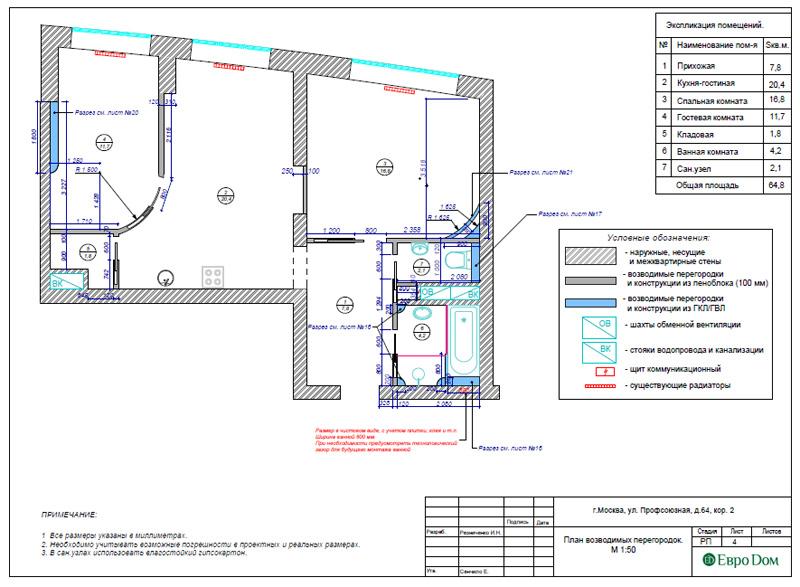 Дизайн 2-комнатной квартиры 65 кв. м в индийском стиле. Фото 022