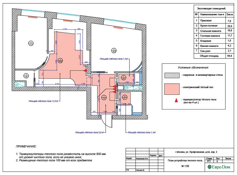 Дизайн 2-комнатной квартиры 65 кв. м в индийском стиле. Фото 027