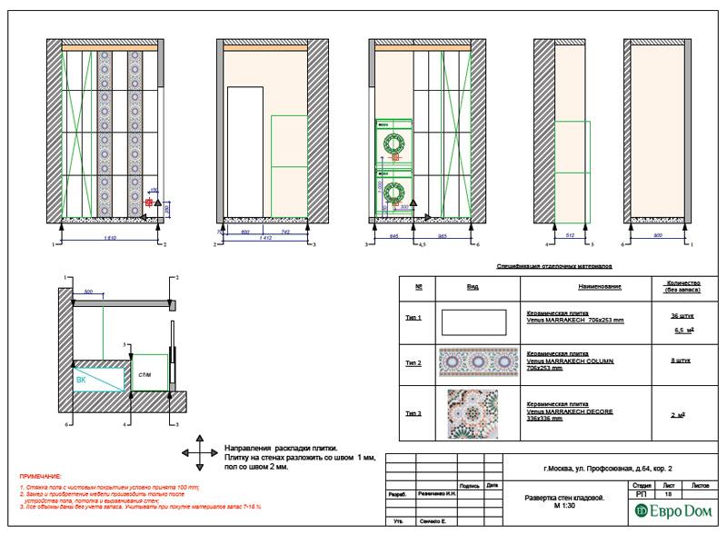 Дизайн 2-комнатной квартиры 65 кв. м в индийском стиле. Фото 036