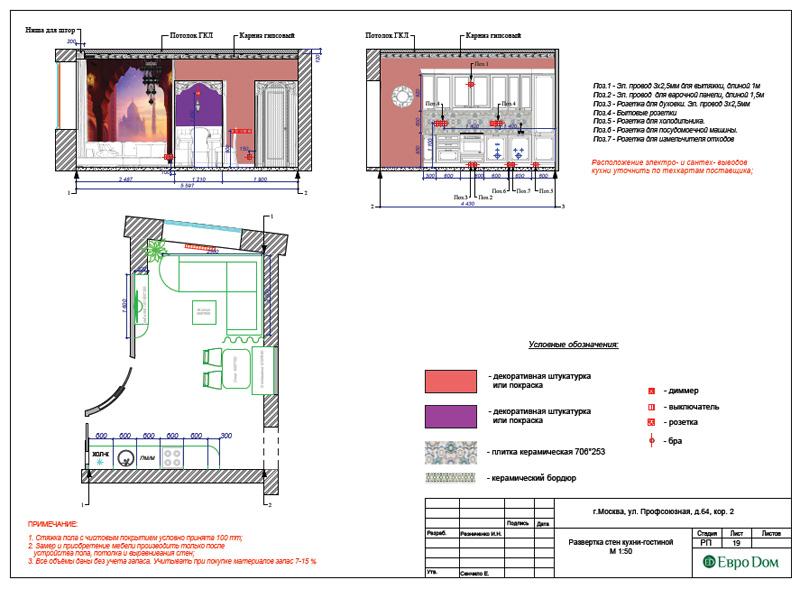 Дизайн 2-комнатной квартиры 65 кв. м в индийском стиле. Фото 037