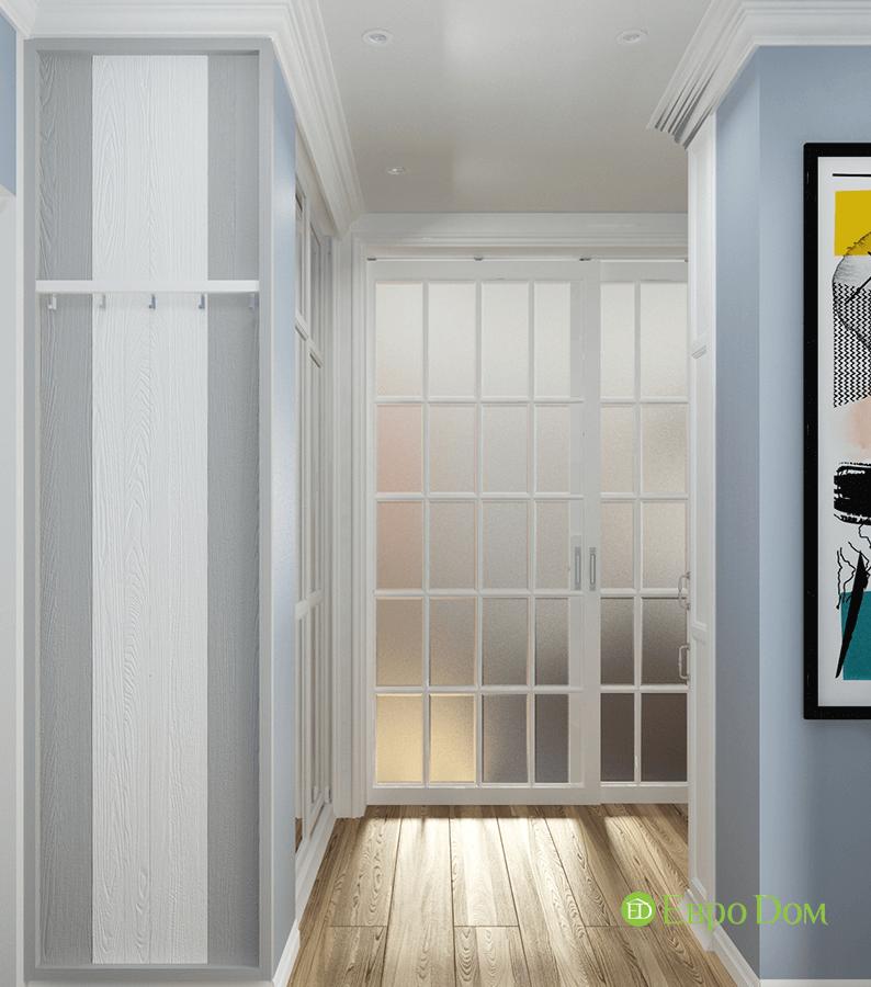 Дизайн двухкомнатной квартиры 70 кв. м в скандинавском стиле. Фото 011