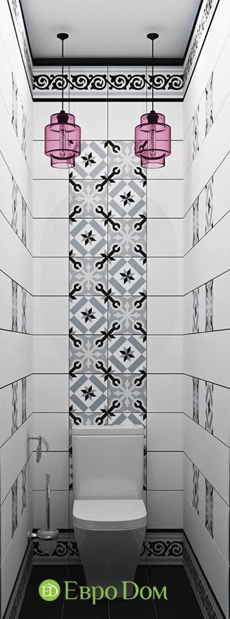 Дизайн двухкомнатной квартиры 70 кв. м в скандинавском стиле. Фото 012
